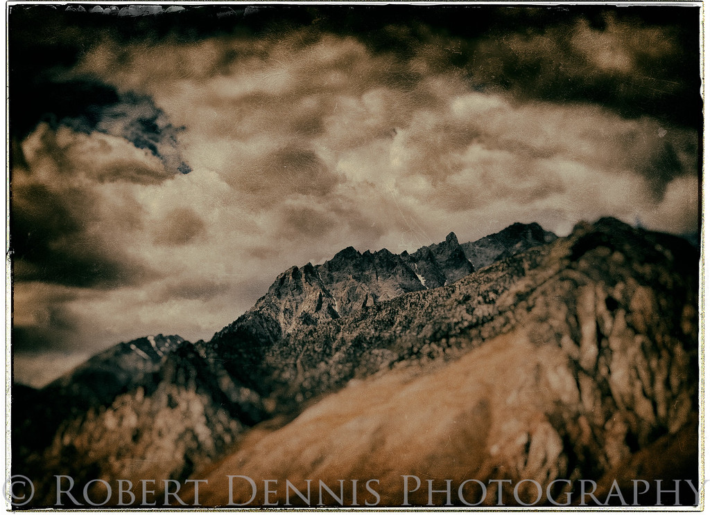 Photographing eastern Sierra & Mt. Whitney from east of Lone Pine