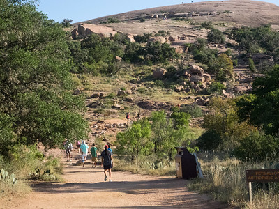 Enchanted Rock July