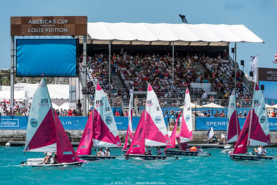 18/06/2017 - Bermuda (BDA) - 35th America's Cup 2017 - 35th America's Cup Match Presented by Louis Vuitton- America's Cup Endeavour Program presented by Orbis