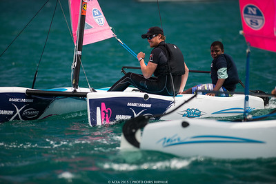 The America's Cup together with the biggest names in the marine industry  launched an ambitious youth education and sailing program - the AC Endeavour Program - with a focus on leaving a sporting legacy in Bermuda