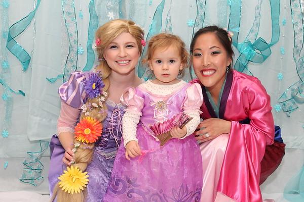 Posed with Princess
