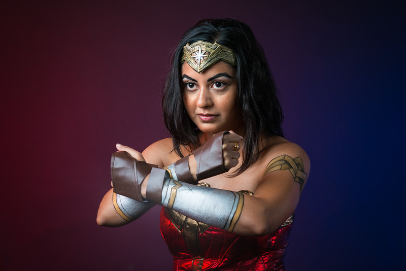 "Harleen as ""Wonder Woman"""