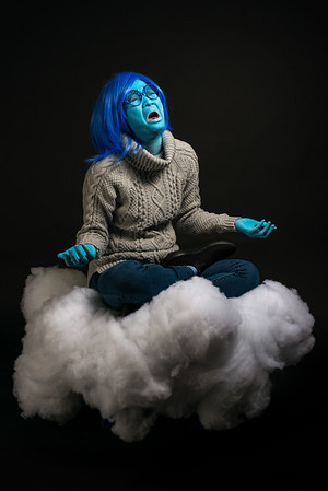 "Mindy Tom as ""Sadness"""