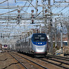 Amtrak Acela 2255 with MBTA Providence Line Train