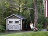 Hannah swinging