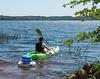 Banjamin setting out kayaking