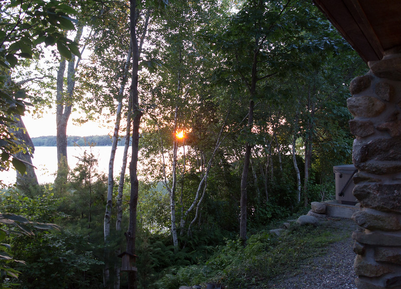 Sunset at Snipatuit Pond