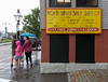 Touring New Bedford in the rain