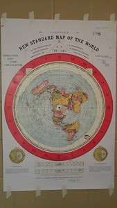 GLEASON'S NEW STANDARD MAP OF THE WORLD