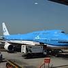 KLM Boeing 747-400 PH-BFV at Hong Kong Airport having brought me from Amsterdam.