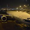 Cathay Pacific Boeing 777-300 B-KQK at Hong Kong International Airport.