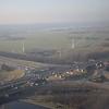 The Knooppunt Rottepolderplein road junction between the A200 and A9 motorways near Amsterdam Schipol airport, Netherlands.