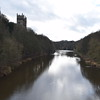The River Wear passing through Durham.