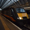 Grand Central Class 43 HST power car no. 43465 at London Kings Cross on the 08:03 to Sunderland.