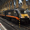 Grand Central Class 43 HST power car no. 43484 at London Kings Cross on the 08:03 to Sunderland.