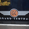 The Grand Central logo on the 08:03 London Kings Cross to Sunderland.