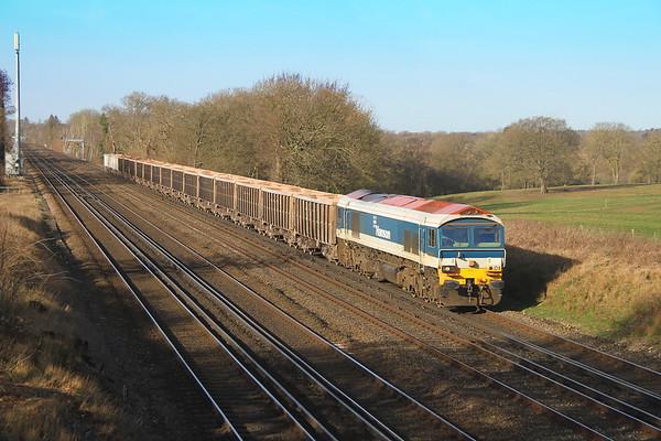 59103 Potbridge 24/02/17 7O12 Merehead to Woking