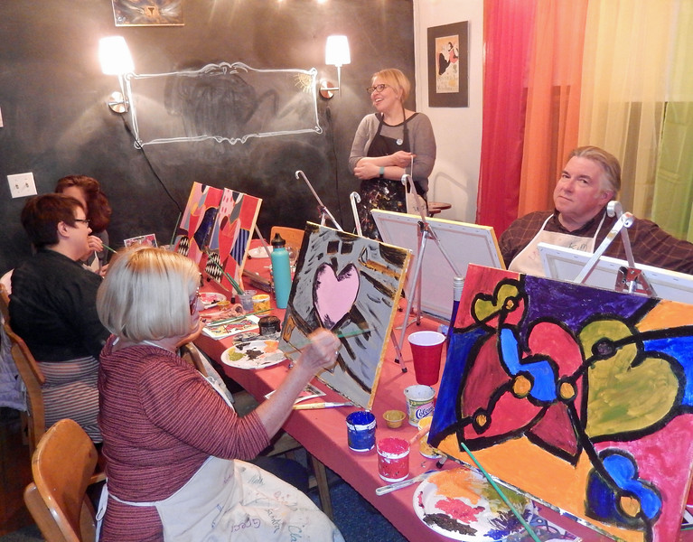 Heather's Painting Party 02
