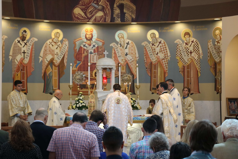 Hierarchical Divine Liturgy & Feles 40 Day Memorial