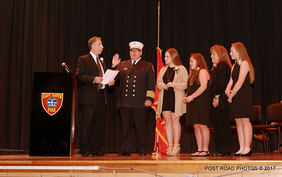East Haven (CT) swears-in Matthew Marcarelli as new fire chief