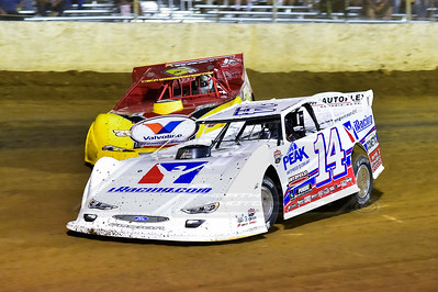 Darrell Lanigan (14) and RJ Conley (71C)