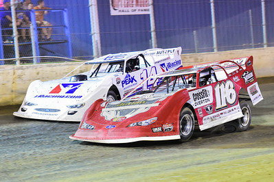 Brandon Overton (116) and Darrell Lanigan (14)
