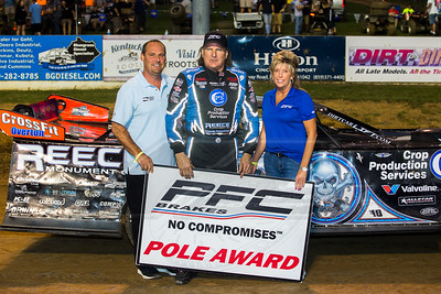 PFC Brakes Pole Award winner Scott Bloomquist
