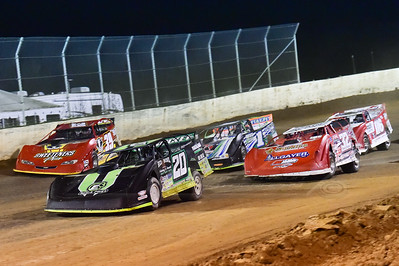 Jimmy Owens (20), Bobby Pierce (32), Josh Richards (1), Tim McCreadie (39) and Brandon Overton (116)