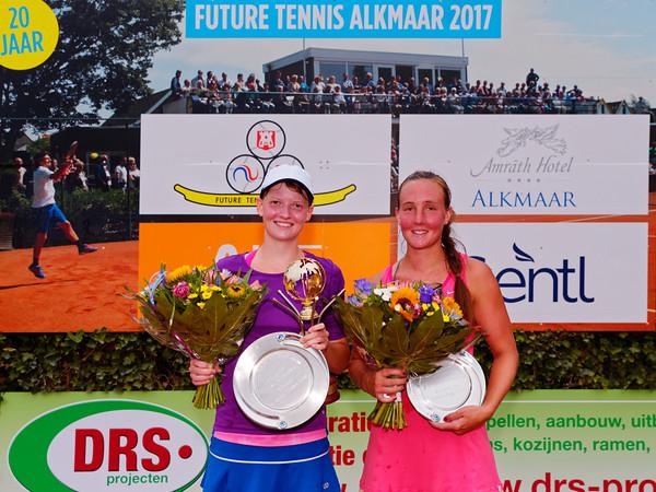 01.03a Finalists women single - Future Alkmaar 2017