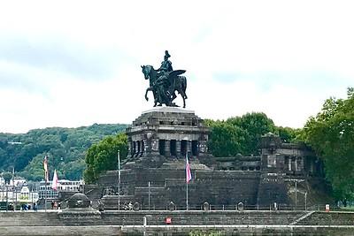 Emperor William I in Koblenz