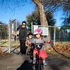 Riding Bikes at Rosedale Elementary