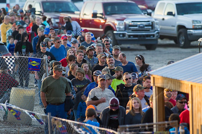 Race fans lined up to buy tickets