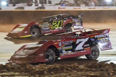 Rick Eckert (7E) and Billy Moyer, Jr. (21)