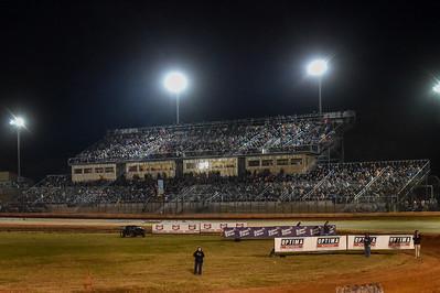 Golden Isles Speedway grandstands