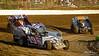 PPB Forrest Rogers Memorial - Grandview Speedway - R19 Ron Seltman, 61 Justin Grim, 31 Chris Esposito