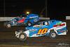47th Annual Freedom 76 - Grandview Speedway - 10 Scott Albert, 4 Frank Cozze