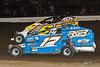 47th Annual Freedom 76 - Grandview Speedway - 17 Ryan Grim, 6 Matt Stangle