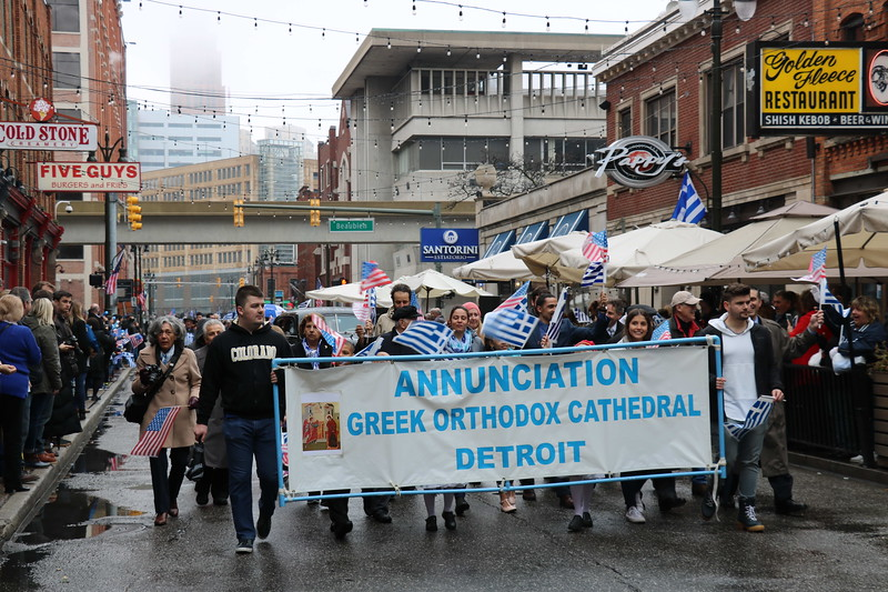 16th Annual Detroit Greek Independence Day Parade