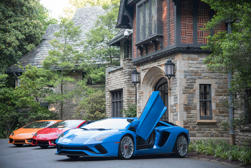 Harvard Business School Club of Washington DC, Chairman Circle Salon, with Lamborghini. Villa Firenze, Residence of the Ambassador of Italy, May 18, 2017.  Photo by Ben Droz.