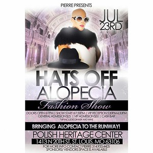 Chuck Pfoutz Presents: Hats Off Alopecia Fashion Show 2017
