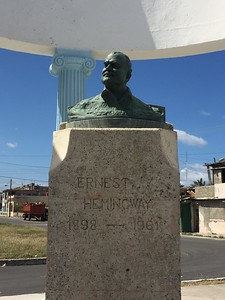 Bust of Ernest Hemingway in Cojimar - Kristin Cass