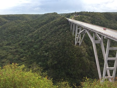 Bacunayagua Bridge, the highest in Cuba - Kristin Cass