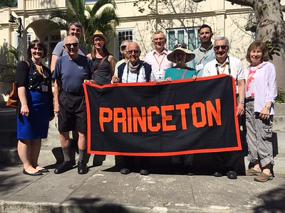 The Princeton group at Finca Vigía, where Ernest Hemingway lived for 20 years - Kristin Cass