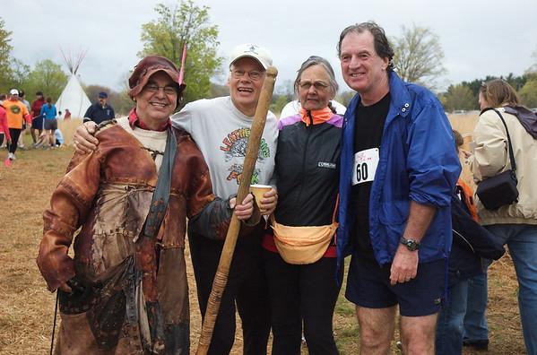 Stan Telega, Tony and Judy Godino, and Danny Martin in 2008.