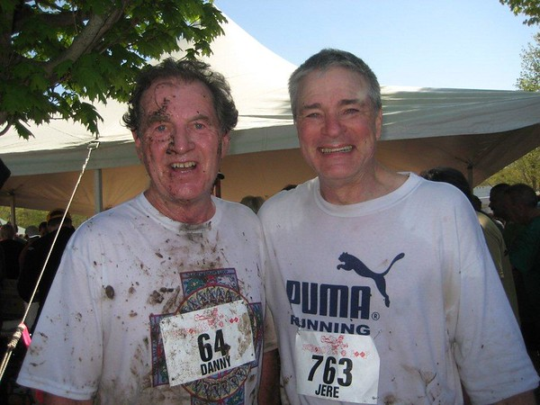 Danny Martin and Jere Hochman post-Loop 2011.