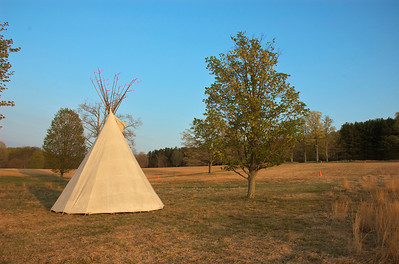 The teepee the night before the Loop.