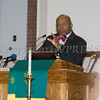 The Reverend Dr. Edward L. Hunt offers remarks during the Bethel Missionary Baptist Church hosted 29th Annual Dr. Martin Luther King Jr. Community Commemorative Service Sunday, January 15, 2017 in Wappingers Falls, NY. Hudson Valley Press/CHUCK STEWART, JR.