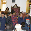 Children discuss what they learned in their workshop during the Black History Committee of the Hudson Valley 49th Annual Martin Luther King Jr Celebration on Monday, January 16, 2017 at New Hope Baptist Church in Newburgh, NY. Hudson Valley Press/CHUCK STEWART, JR.