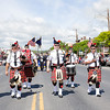 Newburgh Fire Pipes and Drums participated in the City of Newburgh annual Memorial Day Parade on Saturday, May 27, 2017, which proceeded along Broadway to Washington's Headquarters. Hudson Valley Press/CHUCK STEWART, JR.