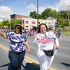The City of Newburgh Councilmembers Cindy Holmes (Ward 4) and Hillary Rayford (At-Large) took part in the annual Memorial Day Parade on Saturday, May 27, 2017, which proceeded along Broadway to Washington's Headquarters. Hudson Valley Press/CHUCK STEWART, JR.